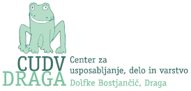 The logo for CUDVA DRAGA is green, with the image of a frog.