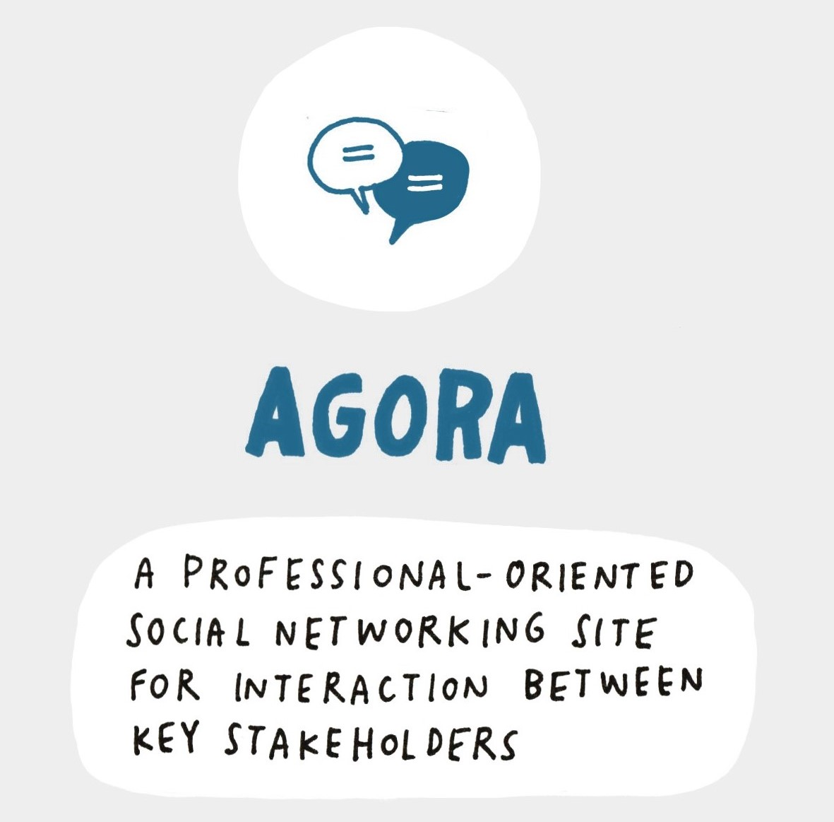 AGORA: A professional-oriented social networking site for interaction between key stakeholders
