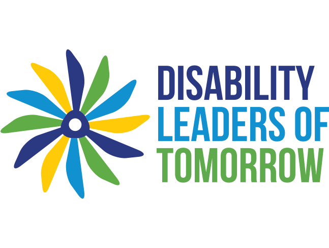 Logo of the Disability Leaders of Tomorrow project